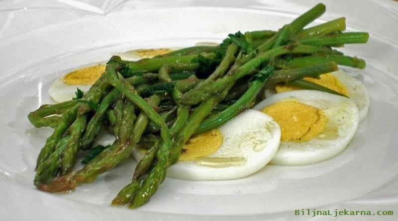Biljna Ljekarna sparoge s jajima