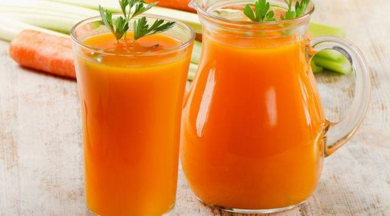 sok od mrkve